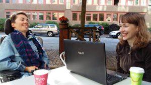 Kristina sažuotės Švedijoje metu